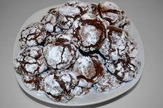 Les craquelés au chocolat d'olivier