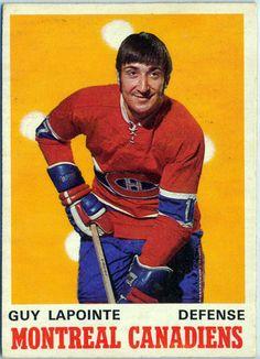Guy Lapointe hockey card | Montreal Canadiens | NHL | Hockey