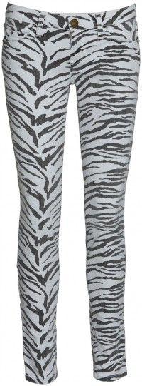 CURRENT ELLIOTT  Zeebra striped pants    www.insbuyr.com