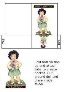 Georgia Paper Doll
