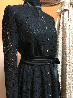 Купить Кружевное платье в пол - платье, платье вечернее, платье коктейльное, кружевное платье
