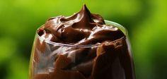 Čokoládová pena s avokádom