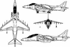Hawker Siddeley Harrier GR Mk. 7 Aircraft Design, Royal Air Force, Cutaway, Military Aircraft, Line Drawing, Jets, Airplanes, Aviation, Forget