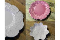 Pretty in Pink Winter Day, Pretty In Pink, Cabbage, Decorative Plates, Ceramics, Tableware, How To Make, Home Decor, Ceramica