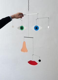 Mobiles, Mobile Art, Hanging Mobile, Mobile Sculpture, Kinetic Art, Teen Art, Ceiling Hanging, Funky Art, Wire Art