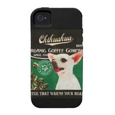 Chihuahua Brand – Organic Coffee Company iPhone 4/4S Case