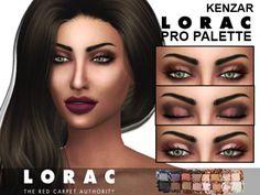 Kenzar Sims: Lorac - Pro palette eyeshadow • Sims 4 Downloads