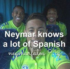 YAAAAASSSSSSSSSSSSSS NOW WE CAN TALK Neymar Jr, Neymar Memes, Good Soccer Players, Football Players, Love You Babe, Soccer Boys, World Cup 2014, Sports Memes, Best Player