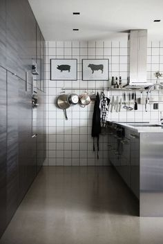 Stainless Steel Kitchen from Modette.se | Remodelista
