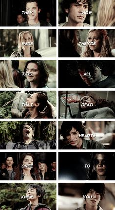 The 100 kids, in the beginning vs. now, how much has changed. Saw this AS the lyrics were sung on the song I was listening to in the background
