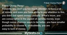 Test Why You Are always Lack of Money