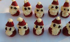 Santa Strawberries Recipe - Christmas