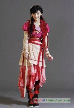 Ancient Chinese Swordswoman Costume
