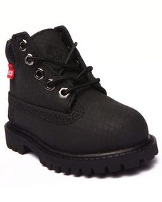 "The mini 6"" Classic Premium Helcor Waterproof & Scuffproof boots by #Timberland for #toddlers!"