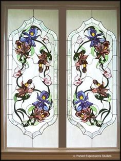 Orchids and Butterflies Panels.
