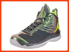 d90d4e58de7 Nike Jordan Men s Jordan Super.Fly 5 Dark Grey Volt Anthracite Basketball  Shoe 10.5