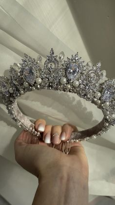 #bridalhairaccessories #bridaljewellery #weddinginspiration #wedding #weddinghairstyle #bridetobe #wedding2021 Bridal Crown, Bridal Tiara, Hair Jewelry, Bridal Jewelry, Jewelry Sets, Wedding Tiara Veil, Tiaras And Crowns, Bridal Hair Accessories, Bride Hairstyles