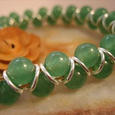 Green Goddess Corded Chainmaille Bracelet with by MagickMaille, $25.00