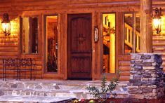Front Doors That Make a Statement | Real Log Homes