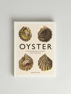 Oyster – A Gastronomic History Book And Magazine, Oysters, Presents, Place Card Holders, Shapes, History, Magazines, Books, Accessories