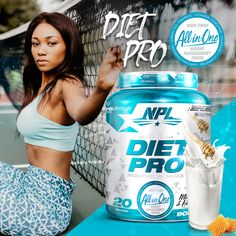 Diet Pro Meal Replacement Shake is filling, high in fibre and low in calories! - Chocnut Sundae - Milk and Honey - Red Velvet - Vanilla Doughnut Best Workout Supplements, Meal Replacement Shakes, Sports Nutrition, Nutritional Supplements, Fun Workouts, Doughnut, Red Velvet, Vanilla, Honey