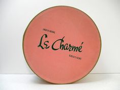 Vintage Hat Box 40s Pink Le Charme Pink by LuckyLenoreVintage, $29.99