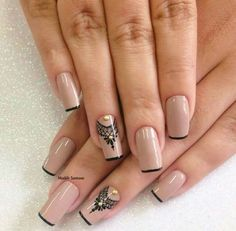 dresses, fashion, and nails image