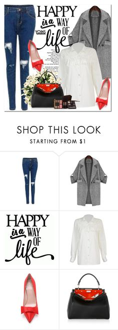 """""""Yoins.com"""" by oshint ❤ liked on Polyvore featuring Kate Spade, Fendi, Laura Mercier and yoins"""
