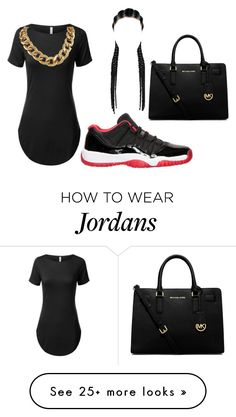 """REGULAR DAY OUT"" by tatavines on Polyvore featuring Retrò and MICHAEL Michael Kors"