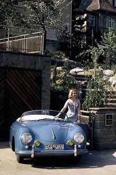 Porsche 356 Speedster by glenna