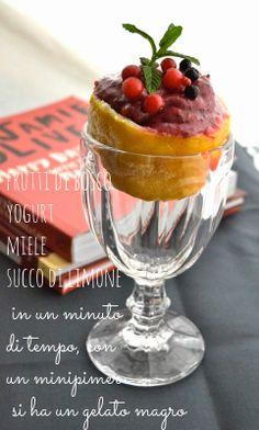 Ricetta Gelato ai frutti di bosco, dei 2 minuti - senza gelatiera