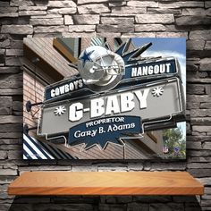 Personalized NFL Pub Canvas - Available in All 32 Teams