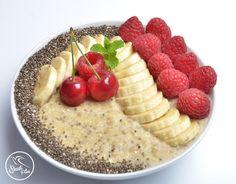 Vaníliás-chia magos quinoa kása - NAGYON JÓ Quinoa, Fitt, Acai Bowl, Oatmeal, Breakfast, Kassel, Acai Berry Bowl, The Oatmeal, Morning Coffee