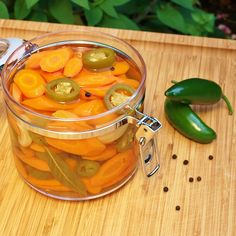 Hot Pickled Carrots   Feral Kitchen