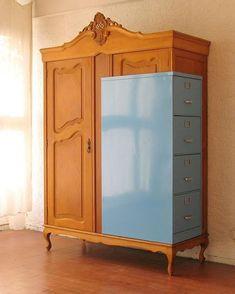 Charming furniture - Easy to smart pin decor 8723488870 Hand Painted Furniture, Funky Furniture, Recycled Furniture, Art Furniture, Unique Furniture, Furniture Makeover, Furniture Design, Furniture Stores, Karton Design