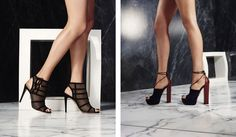 Walk... with high heels! Learn how! From the last collection of Aquazurra
