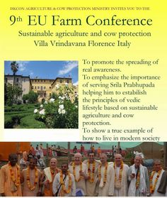 9th EU Farm Conference in Villa Vrindavana, Florence, Italy. The farm conferences are bringing together empowered citizens and …