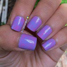 saran wrap nails!