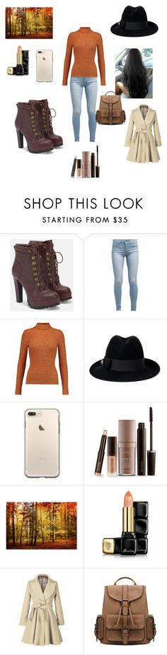"""""""Thanksgiving"""" by jessiestarman ❤ liked on Polyvore featuring JustFab, Levi's, Just Cavalli, Gucci, Laura Mercier, Guerlain, Fall, holiday and thanksgiving"""