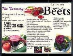 Beet Benefits~ natures Viagra! Nice ;)