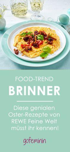 Schon mal von Brinner gehört? Die Mischung aus Breakfast und Dinner ist DER neue Food-Trend. Die besten Oster-Rezepte von REWE Feine Welt findet ihr hier! #brinner #rewefeinewelt #ostern2016 #gewinnspiel