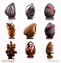 Incredible Edible Eggs by Enric Rovira - Master Chocolatier in Catalonia.