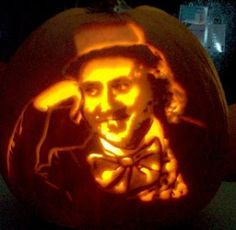 Willy Wonka: 20 Pumpkin Carvings Inspired by Books   A BookLover's Diary