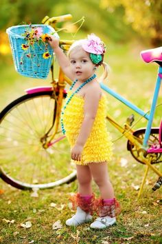 Yellow Pettiskirt Romper-from Etsy seller-DreamSpunKids, Photo by Pink Paisley