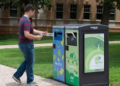 BigBelly is harnessing its tech-savvy, solar powered trashcan to provide public Wi-Fi