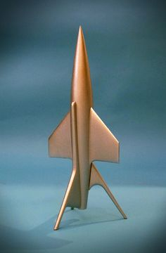 Flight To Mars Rocketship