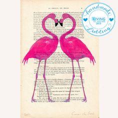 Flamingo hertz von Coco De Paris auf DaWanda.com http://de.dawanda.com/product/40298230-Flamingo-hertz