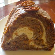 Apple Pumpkin cheese Coffee Cake