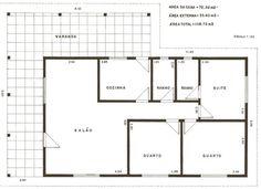 modelo de planta casa popular