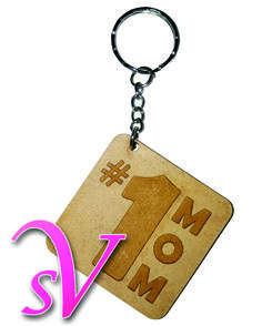 Laser cut keychain, this iss the perfect gift for your mom this coming mothers day, we ship worldwide, follow us at https://www.facebook.com/SecretValentine1/